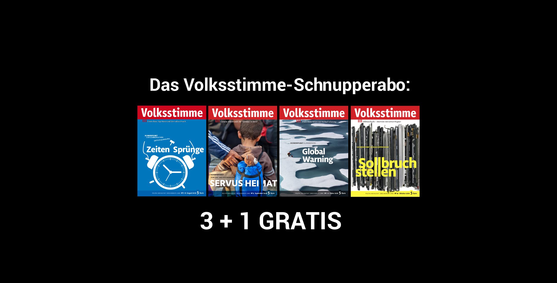 schnupperabo
