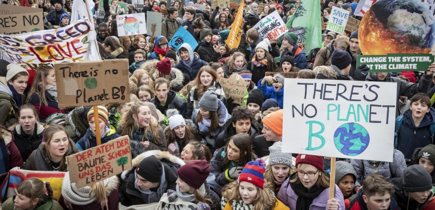 DEMO IN BERLIN  / FRIDAYS FOR FUTURE